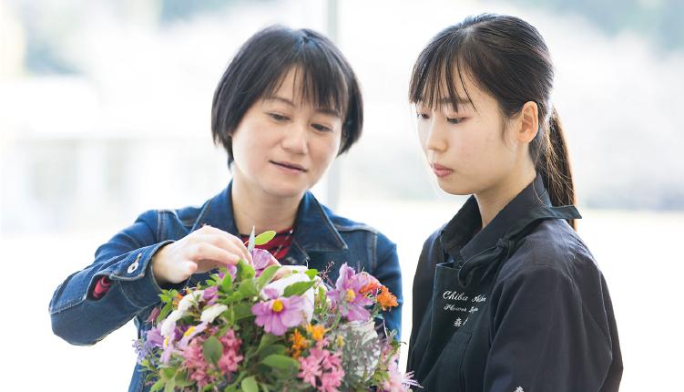 JIFD日本フローラルデザイナー協会唯一の認定校!