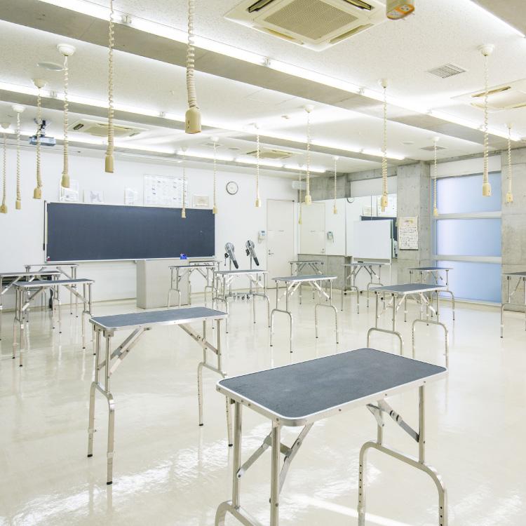 4F グルーミング実習室